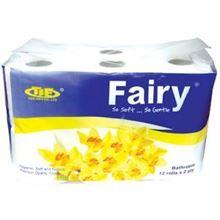Giấy vệ sinh fairy xanh 12 cuộn có lõi