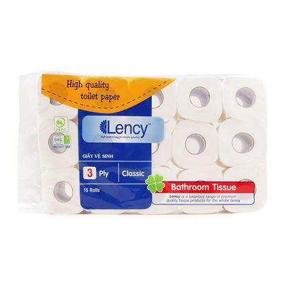 Hình ảnh của Giấy vệ sinh Lency