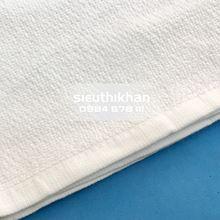 Khăn lau cotton kích thước 30x30cm-Khăn trắng trơn